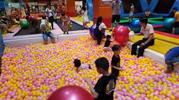 在商场开一家100平米儿童淘气堡需要多少钱?